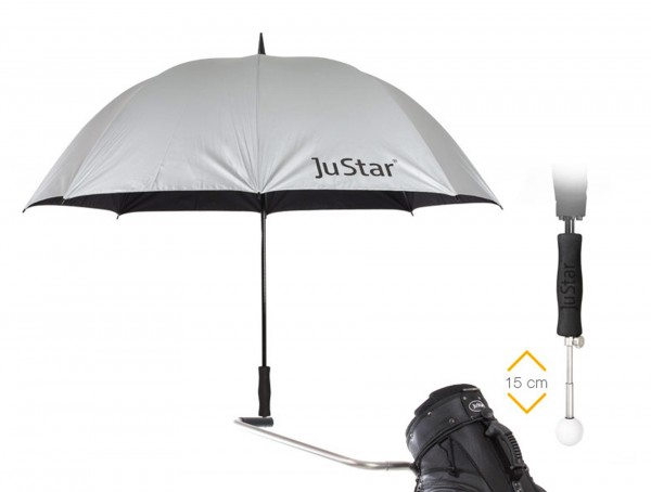 Telescopic umbrella